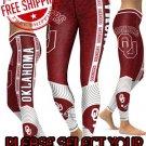 American University Oklahoma Sooners College Team Sports Leggings