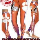American University Clemson Tigers College Team Sports Leggings