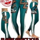American University Coastal Carolina Chanticleers Team Sports Leggings