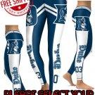 American University Duke Blue Devils College Team Sports Leggings