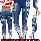 American University Penn State Nittany Lions College Team Sports Leggings