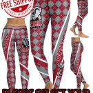 American University Alabama Crimson Tide College Team Sports Leggings