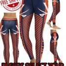 American University Virginia Cavaliers College Team Sports Leggings