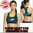Philadelphia Eagles Football Team Sports Bra
