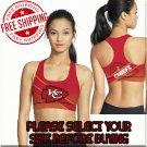 Kansas City Chiefs Football Team Sports Bra