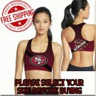 San Francisco 49ers Football Team Sports Bra