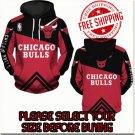 Chicago Bulls Basketball Team Sport Hoodie