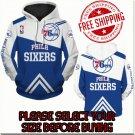 Philadelphia 76ers Basketball Team Sport Hoodie