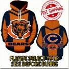 Chicago Bears Football Team Sport Hoodie