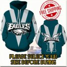 Philadelphia Eagles Football Team Sport Hoodie