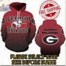 Georgia Bulldogs Football Team Sport Hoodie