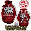Alabama Crimson Tide Football Team Sport Hoodie