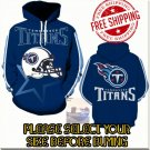 Tennessee Titans Football Team Sport Hoodie