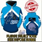 Detroit Lions Football Team Sport Hoodie