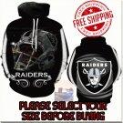 Oakland Raiders Football Team Sport Hoodie