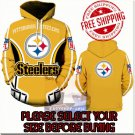 Pittsburgh Steelers Football Team Sport Hoodie