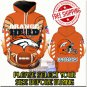 Denver Broncos Football Team Sport Hoodie