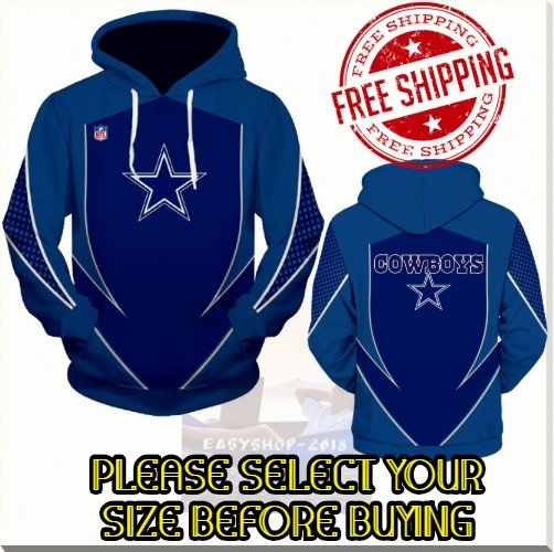 Dallas Cowboys Football Team Sport Hoodie