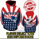 New England Patriots Football Team Sport Hoodie