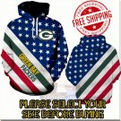 Green Bay Packers Football Team Sport Hoodie