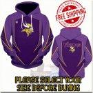 Minnesota Vikings Football Team Sport Hoodie