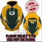 Green Bay Packers Football Team Sport Hoodie