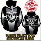 Oakland Raiders SE Football Team Sport Hoodie