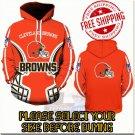 Cleveland Browns Football Team Sport Hoodie