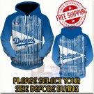 Los Angeles Dodgers Baseball Team Sport Hoodie