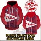 Philadelphia Phillies Baseball Team Sport Hoodie