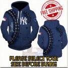 New York Yankees Baseball Team Sport Hoodie