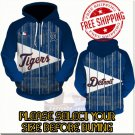 Detroit Tigers Baseball Team Sport Hoodie