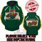 Minnesota Wild Hockey Team Sport Hoodie