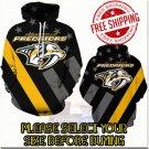 Nashville Predators Hockey Team Sport Hoodie