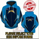 Los Angeles Chargers SE Football Team Sport Hoodie With Zipper