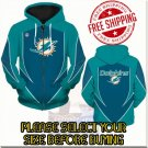 Miami Dolphins SE Football Team Sport Hoodie With Zipper