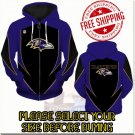 Baltimore Ravens SE Football Team Sport Hoodie With Zipper