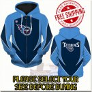 Tennessee Titans SE Football Team Sport Hoodie With Zipper