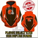 Cleveland Browns SE Football Team Sport Hoodie With Zipper