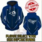 Los Angeles Rams SE Football Team Sport Hoodie With Zipper
