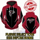 Atlanta Falcons SE Football Team Sport Hoodie With Zipper
