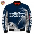 New-A  Dallas Cowboys Football Team Sport Jacket  Unisex