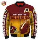 New Washington Red Skin  Football Team Sport Jacket  Unisex
