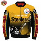 New Pittsburgh Steelers   Football Team Sport Jacket  Unisex