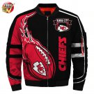 New-A  Kansas City Chiefs Football Team Sport Jacket  Unisex