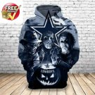 Dallas Cowboys Horror Football Team Sport Hoodie