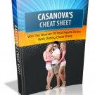 Casanova's Cheat Sheet