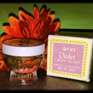 Vintage Avon Violet Cream Sachet .66 oz