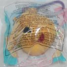 McDonald's 1999 Winnie The Pooh Soft Toy On Key Ring Toy #1