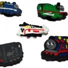 Planes Trains Shoe Charms or Zipper Pulls #4 (Set of 5)